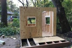 Walls with Plywood Sheeting