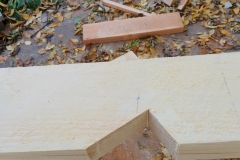 Notch for Wall Support