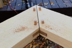 Peak Spline and Oak Pegs