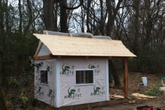 Applying Tongue and Groove Carsiding Roof
