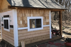 Cedar Lap Siding and Shingles